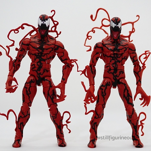 Marvel Legends – Authentic Green Goblin BAF Wave Carnage vs KO Carnage