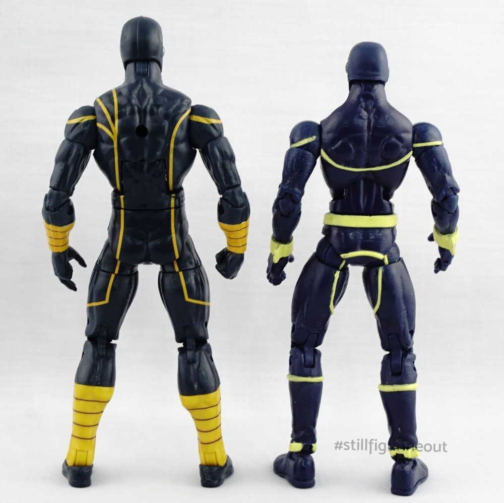 Marvel Legends - Cyclops (Puck BAF Wave) vs Cyclops (Brood Queen BAF Wave)