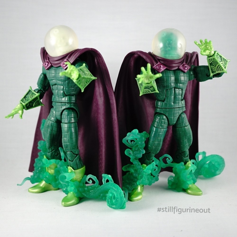 Marvel Legends – Lizard BAF Wave Mysterio Variants