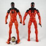 Marvel Legends – Scarlet Spider (SP//DR Baf Wave) vs Scarlet Spider (Rocket Racoon BAF Wave)