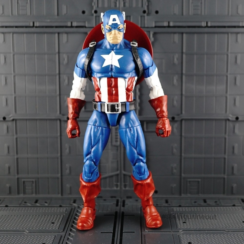 Marvel Legends - Captain America (Onslaught BAF Wave)