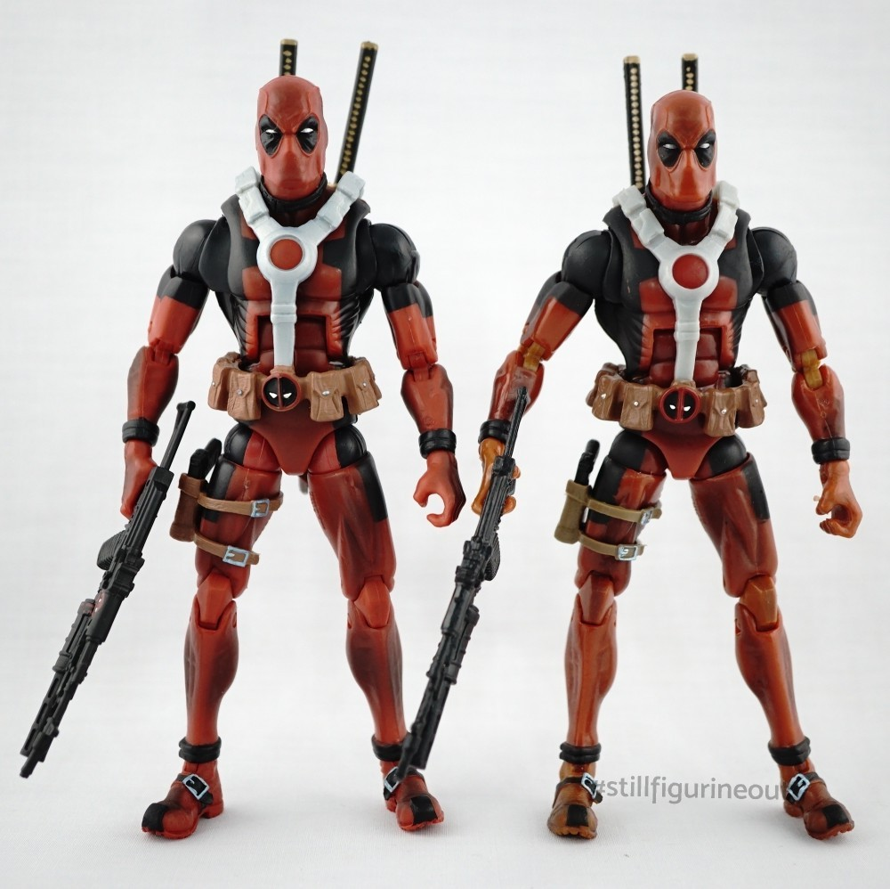 Marvel Legends – Epic Heroes Wave Deadpool (Authentic vs KO)