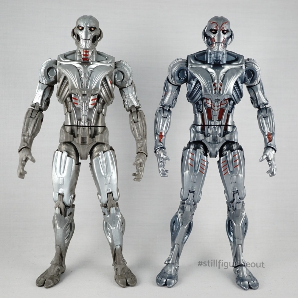 Marvel Legends - Ultron (BAF) vs Ultron (MCU 10th Year Anniversary)