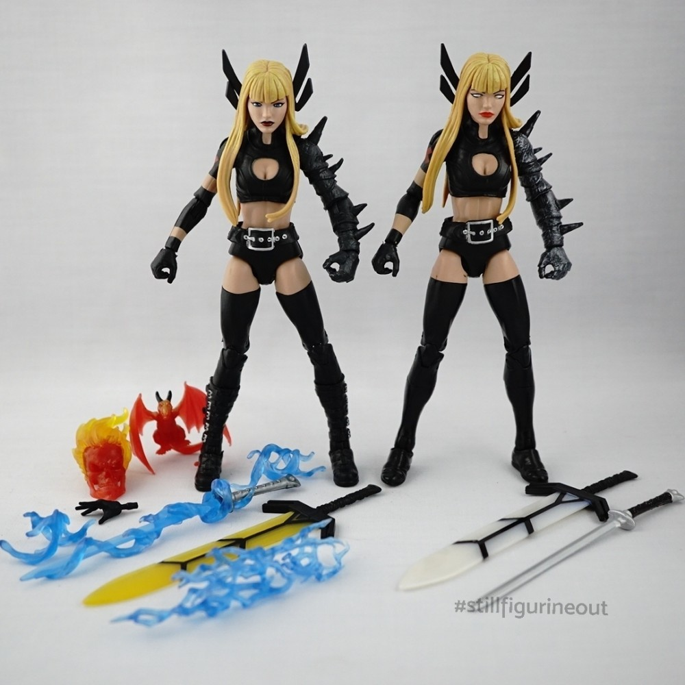 Marvel Legends – Magik (Walgreens Exclusive) vs Magik (SDCC 2015 Vishanti Box Set)