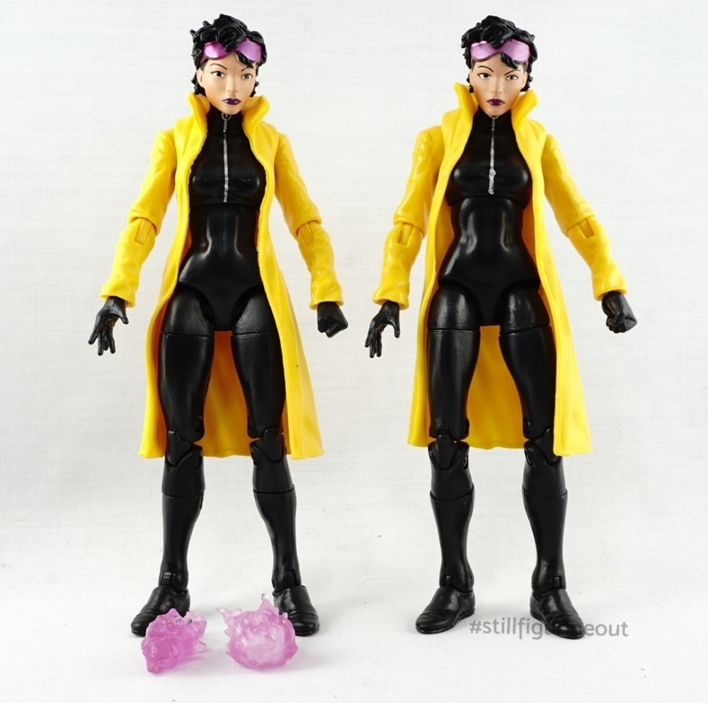 Marvel Legends – Jubilee BAF (Authentic vs KO)