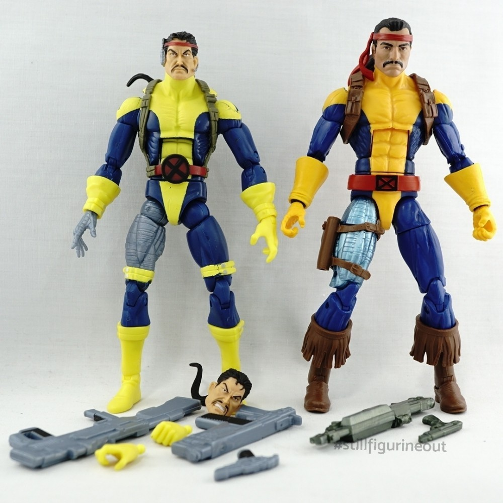 Marvel Legends – Hasbro Forge (2-pack with Wolverine) vs Hasbro Forge (Caliban BAF Wave)