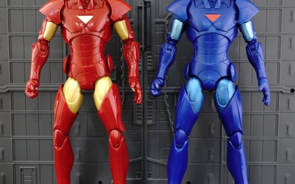 Marvel Legends – Extremis Iron Man Variants (Terrax BAF Wave)