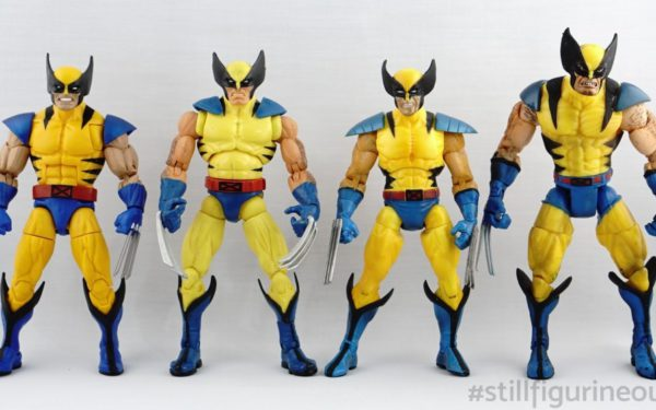 Marvel Legends – Wolverine (Hasbro Apocalypse BAF Wave, Hasbro Red Hulk BAF Wave, Toybiz X-men Classics, Toybiz Series III)