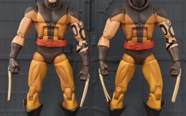 Marvel Legends – Daken Masked and Unmasked Variants (Arnim Zola BAF Wave)