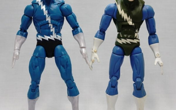 Marvel Legends – Quicksilver (Family Matters Boxset) vs Quicksilver (Blob BAF Wave)