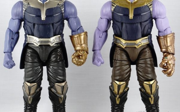 Marvel Legends – MCU Thanos (BAF) vs MCU Thanos (10th Anniversary 3-pack Boxset)