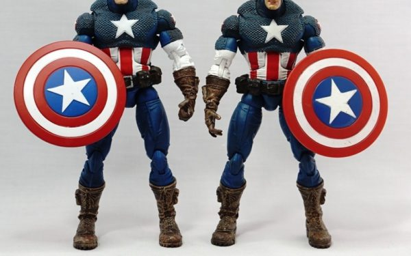 Marvel Legends – Toybiz Ultimate Captain America variants (Series VIII)
