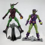 Marvel Legends – Toybiz Green Goblin (Onslaught BAF Wave) vs Hasbro Green Goblin (Sandman BAF Wave)