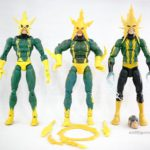 Marvel Legends – Toybiz Electro (Sinister 6 Boxset) vs Toybiz Electro (Spider-man Classics Series 19) vs Hasbro Electro (Space Venom BAF Wave)