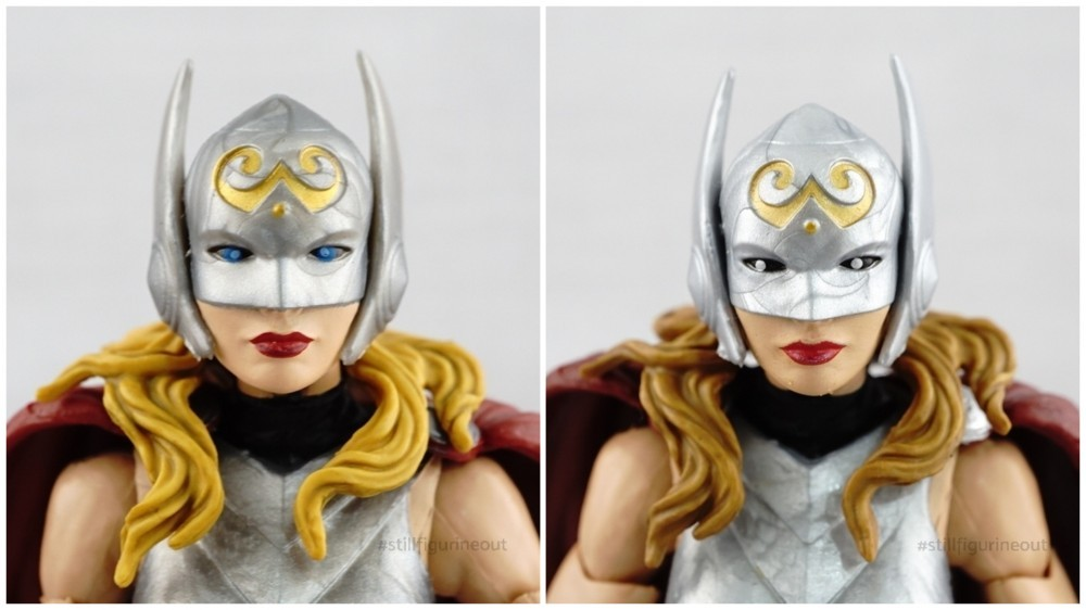 Marvel Legends - Lady Thor (SDCC 2017 Asgardian Boxset) vs Lady Thor (Gladiator Hulk BAF Wave)