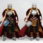 Marvel Legends – Lady Thor (SDCC 2017 Asgardian Boxset) vs Lady Thor (Gladiator Hulk BAF Wave)