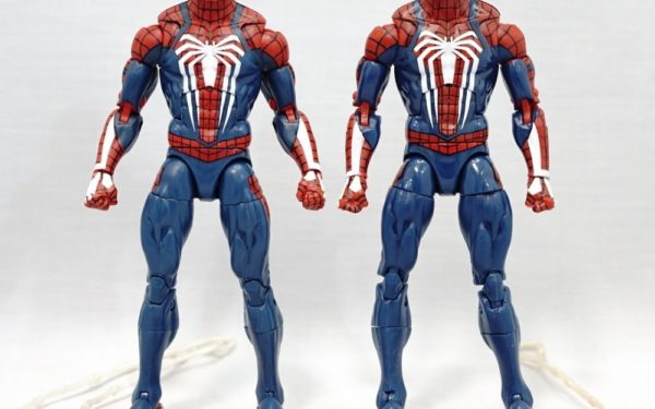 Marvel Legends – Game Stop Exclusive Gamerverse Spider-man (Authentic vs KO)