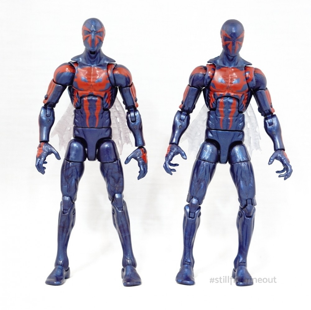 Marvel Legends – Hobgoblin BAF Wave Spider-man 2099 (Authentic vs KO)