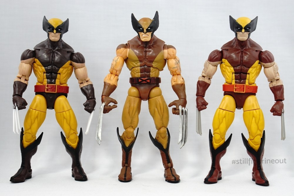 Marvel Legends - Wolverine (Juggernaut BAF Wave) vs Wolverine (Vintage Wave 1)