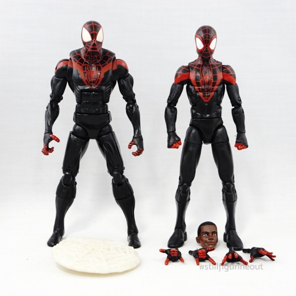 Marvel Legends – Ultimate Spider-man (Walmart Exclusive) vs Ultimate Spider-man (Space Venom BAF Wave)