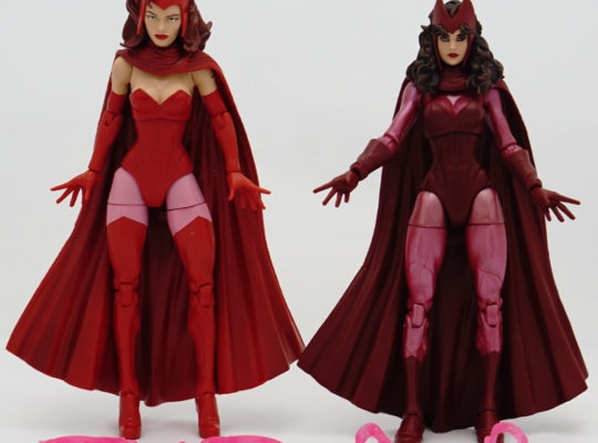Marvel Legends - Scarlet Witch (Odin All-father BAF Wave) vs Scarlet Witch (3-pack with Magneto and Quicksilver)