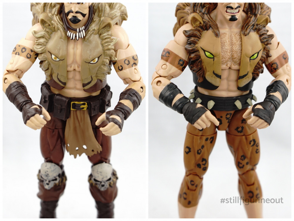 Marvel Legends - Kraven (Rhino BAF Wave v Kraven's Last Hunt 2-pack)