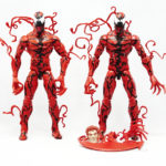 Marvel Legends - Carnage (Ultimate Green Goblin BAF Wave) vs Carnage (Monster Venom BAF Wave)