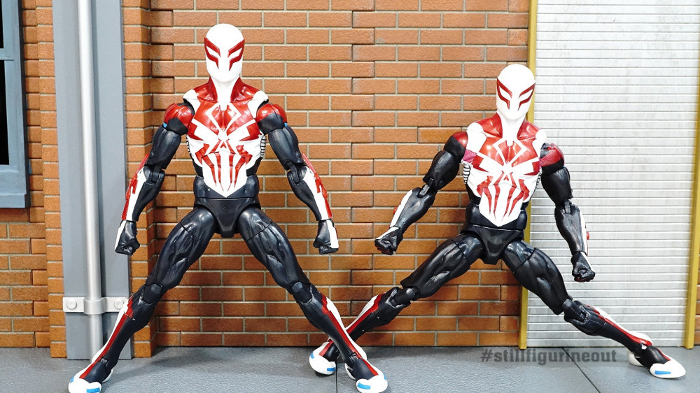 Marvel Legends All-New All-Different Spider-man 2099 Authentic vs KO/Bootleg (How to tell them apart)